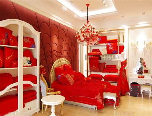 重庆家纺展示柜 重庆床品店展柜制作