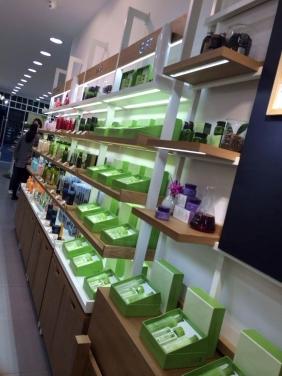 重庆化妆品店展柜 重庆化妆品柜定制