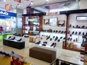 重庆商场烤漆鞋柜 案例照片