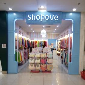 重庆地中海风格内衣店货柜制作
