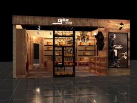 乌托邦个性箱包店展示柜