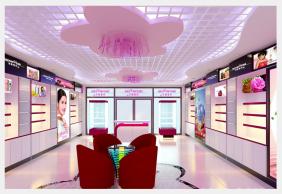 重庆化妆品展柜厂