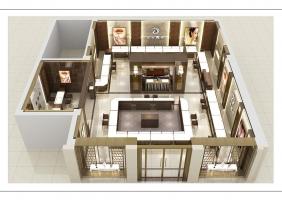 重庆珠宝店设计