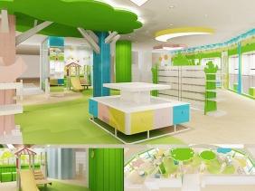 重庆母婴店设计