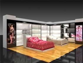 床品展柜设计